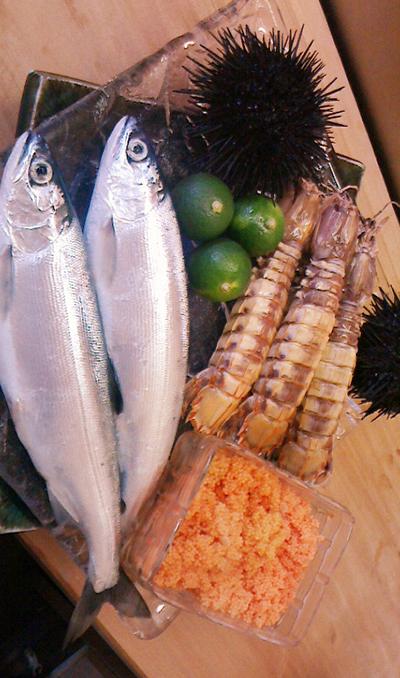 支笏湖チップ始まりました! 蝦蛄 ウニ イバラ蟹外子 槍イカ 時知らず筋子 牡丹海老 牡蠣 マツカワ 釣りキンキ もおすすめです!